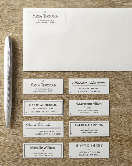 240 Designer Address Labels