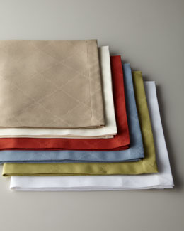 SFERRA Four Lattice Dinner Napkins