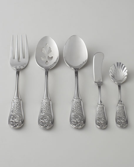 "Five-Piece ""Woodlands"" Turkey Hostess Set"