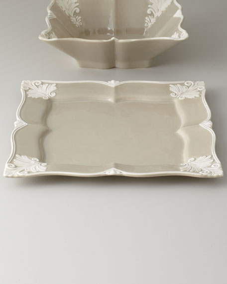Square Baroque Platter