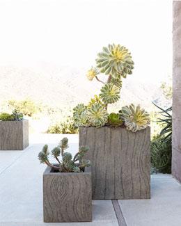 Small Tree Bark Planter