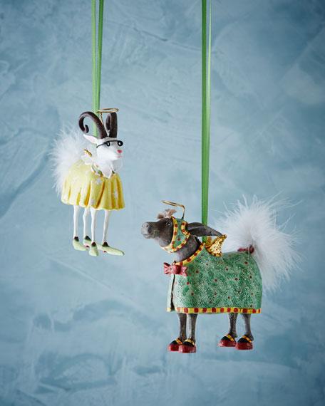 Donkey & Goat Nativity Figures