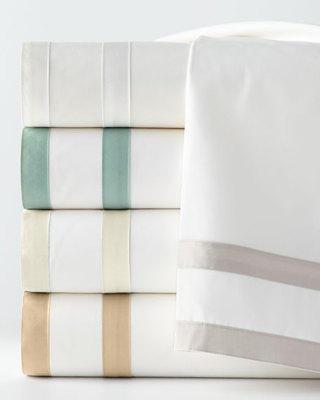 Matouk Queen 350 Thread Count Marlowe Sheet Set