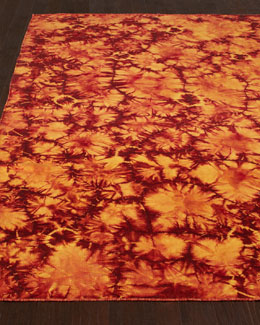 Brilliant Sunburst Rug, 5' x 8'