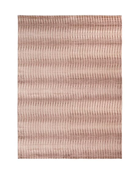 Concerted Waves Rug, 9' x 12'