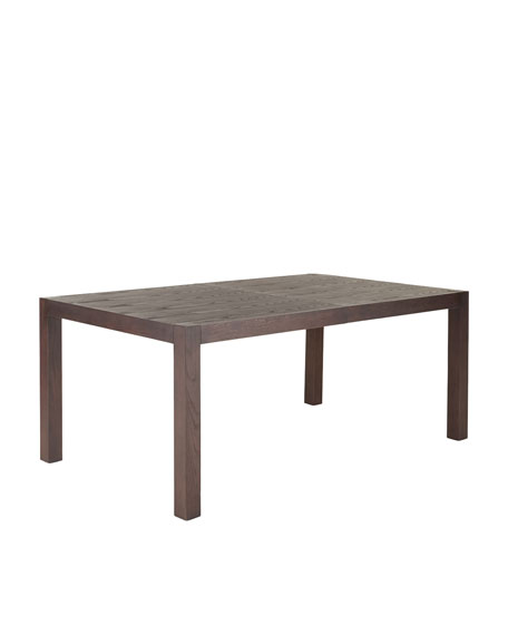 Karington Espresso Dining Table with Two Leaves