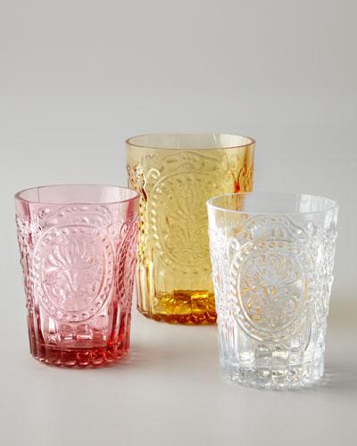 Fleur-de-Lis Juice Glasses, Set of 6