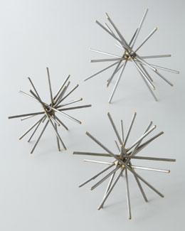 Regina-Andrew Design Large Brazed Spike Ball