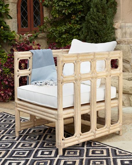 Faux Bamboo Chair