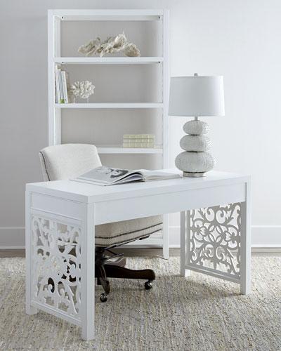 White Spur Desk