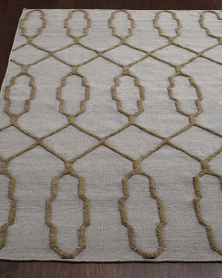 Diamond Key Rug, 3'6