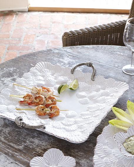 Shell-Motif Platter