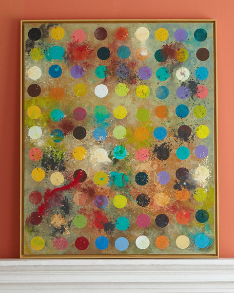 """Mod Artist's Palette"" Painting"