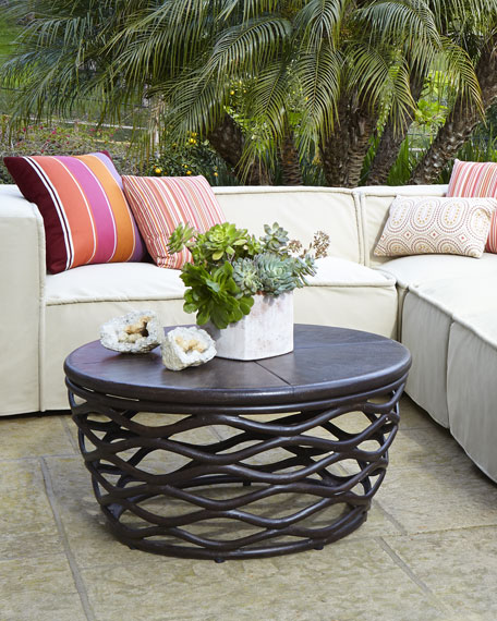 - Industrial Renaissance Outdoor Coffee Table