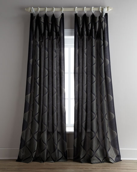 "Each 55""W x 108""L Bora Curtain"