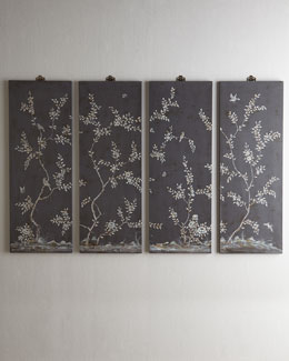 Bird & Vine Wall Panels