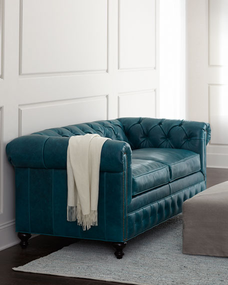 """Arianna"" Leather Sofa"