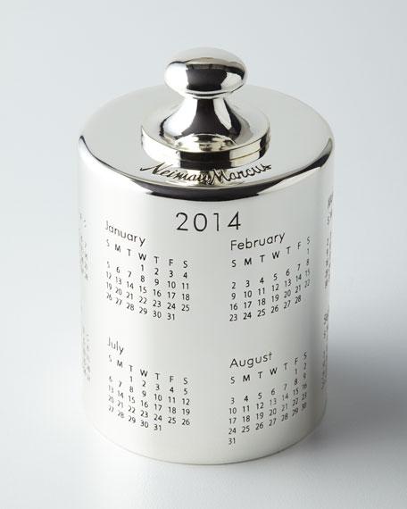 2014 Calendar Paperweight