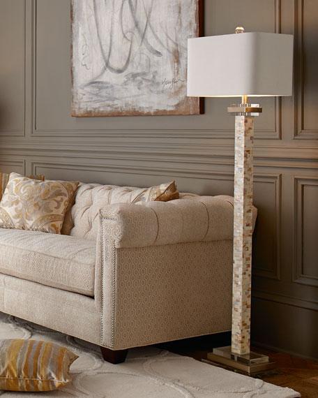 Mother-of-Pearl Floor Lamp
