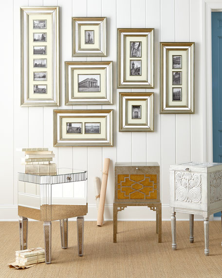 Mirrored Collage Picture Frame Gallery