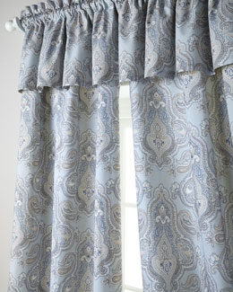 "Rose Tree Each 50""W x 86""L Curtain"