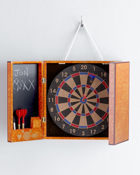 Lacquer Toulouse Dart Board