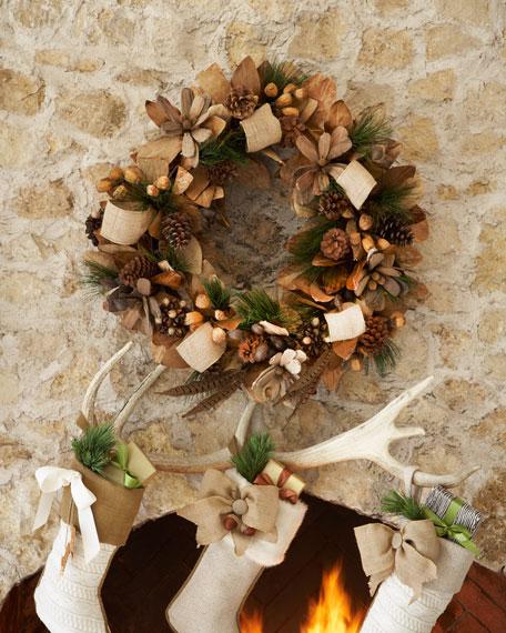 "28"" Natural Wreath"