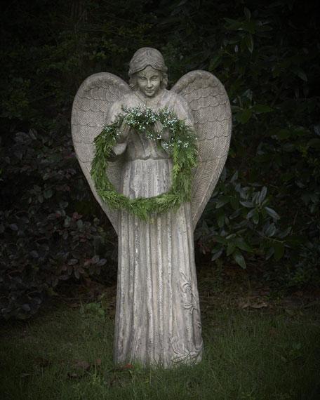 Angel Wreath Holder