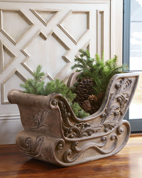 Large Sleigh Planter