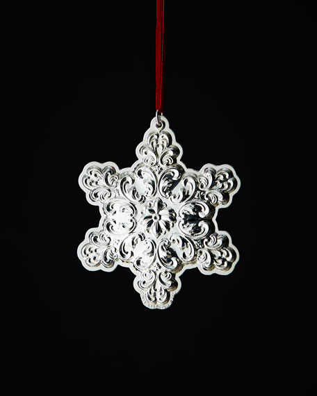 2013 Old Master Snowflake Christmas Ornament
