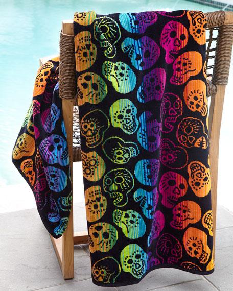 Sugar Skulls Beach Towel