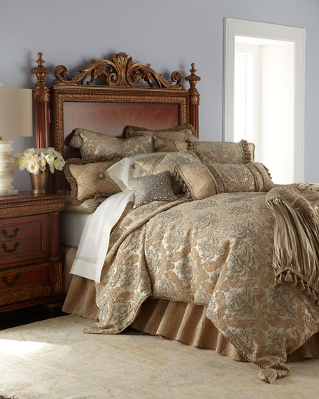 King Florentine Brocade Duvet Cover