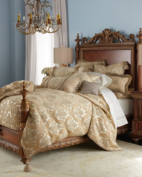 Queen Florentine Brocade Duvet Cover