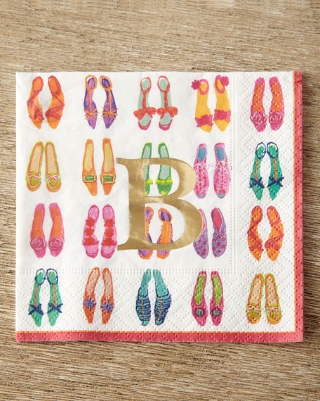 100 Divine Shoe Cocktail Napkins