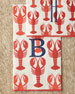 100 Lobster Guest Towels