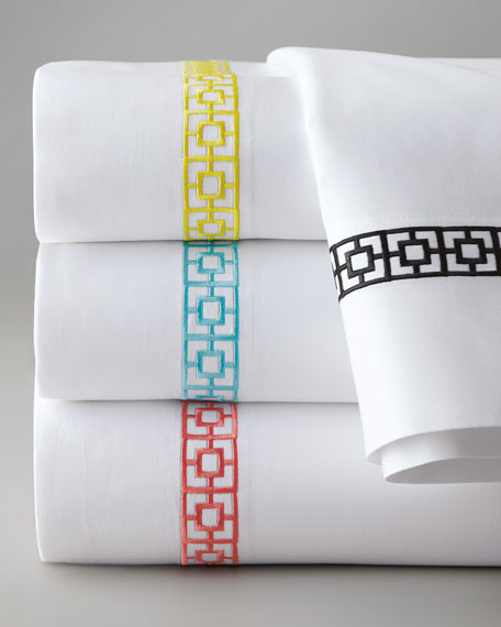 King Palm Springs Block 400TC Sheet Set