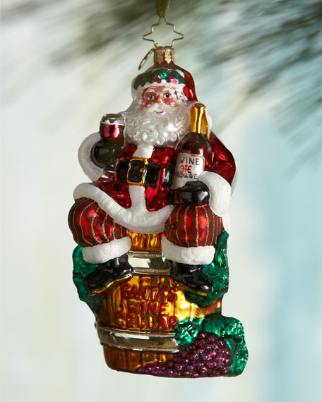 Spirit of Holiday Santa Christmas Ornament