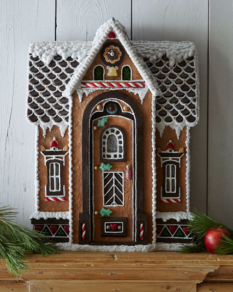 Santa's Chalet Gingerbread House