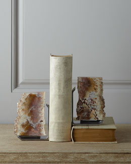 Rab Labs FIM Agate Drusy Bookends