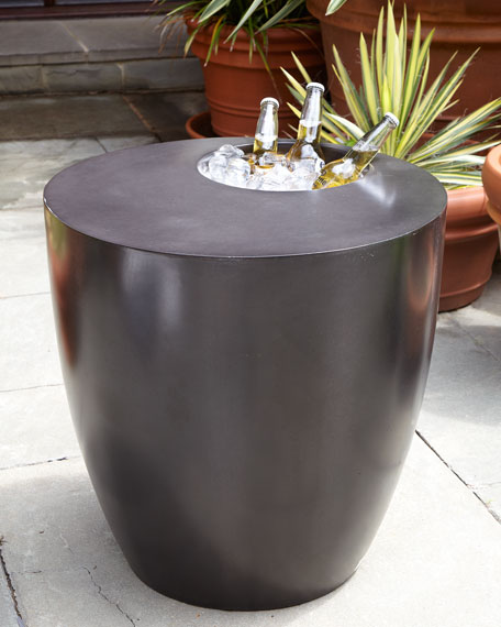 The Phillips Collection Beverage Cooler Side Table