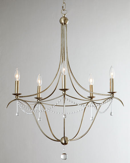Simple Elegance 5-Light Chandelier