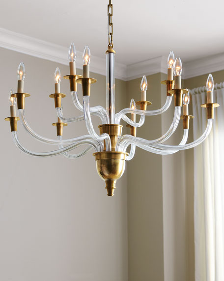 Vivian 12-Light Two-Tier Chandelier