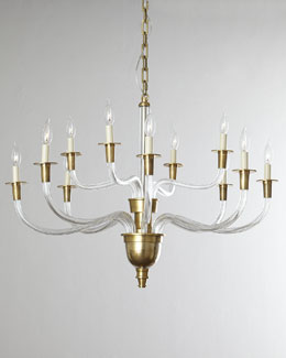 VISUAL COMFORT Vivian Two-Tier Chandelier