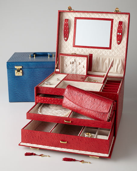 McKenna Extra Large Jewelry Trunk
