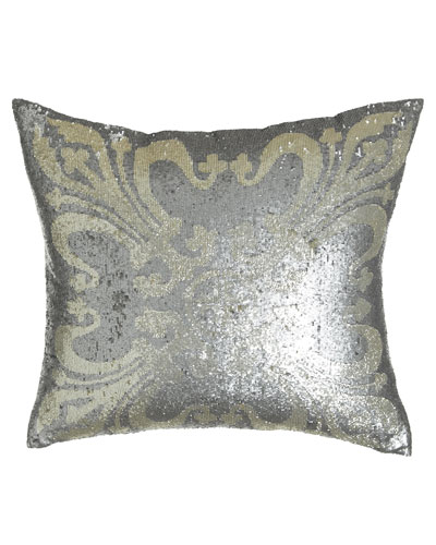 Sequined Pillow  22Sq.