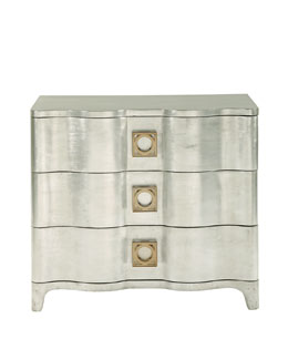 Bernhardt Audrey Three-Drawer Nightstand