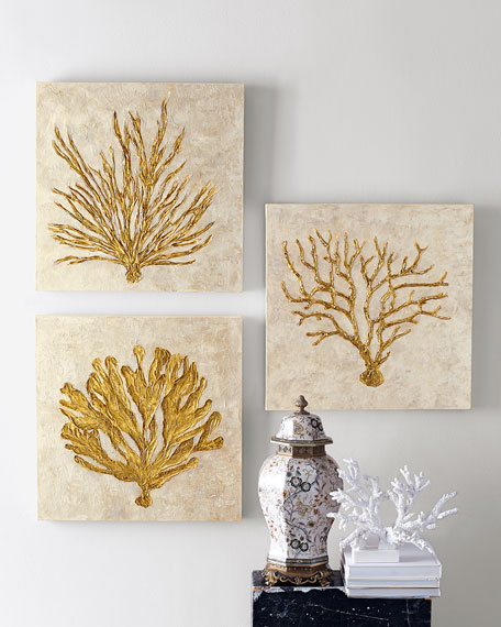 Coral Life IV Giclee on Canvas Wall Art