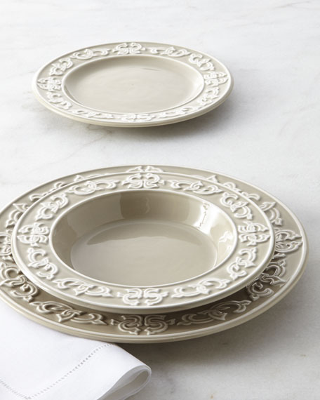 & NM EXCLUSIVE 12-Piece Medallion Dinnerware Service
