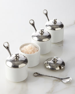 Valpeltro Four Salt Cellars