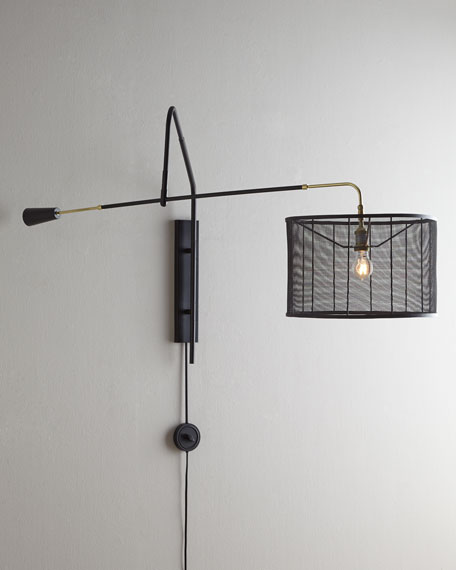 Boom-Arm Sconce